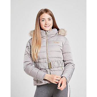 Nouvelles McKenzie Girls-apos; Sophia Belted Jacket Grey