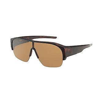 Óculos de Sol Conversão Unissex VZ-0042B marrom