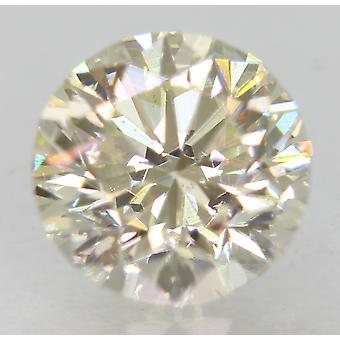 認定 0.95 カラット I VVS2 ラウンド ブリリアント エンハンス ナチュラル ルーズ ダイヤモンド 6.08m