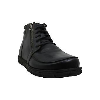 B.O.C Men's Shoes Berkel Leather Closed Toe Ankle Fashion Boots