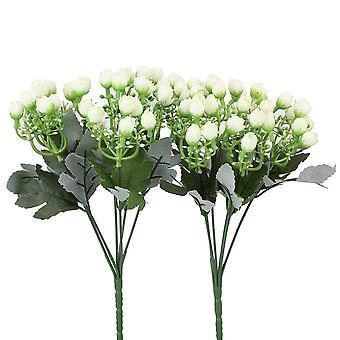 2 x kunstig aglaia odorata knopp 36 knopper bukett bryllup