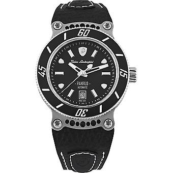 Tonino Lamborghini - Wristwatch - Men - PANFILO - Black - TLF-T03-1