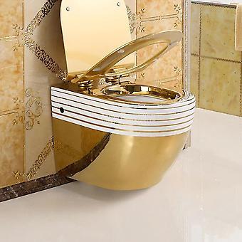 جدار محمولة على حمام دافق - حمام التيتانيوم الفاخرة إغلاق بدون ماء