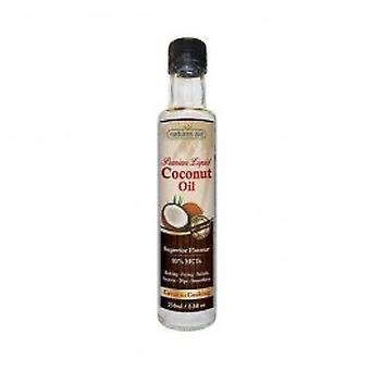 Ayuda de naturalezas - 250 ML de aceite de coco líquido Premium