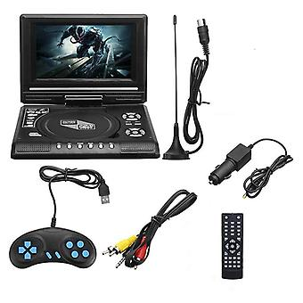 Tv Home Car Dvd Player Portable Hd Vcd Cd Mp3 Player Usb Sd Cards Rca Portable