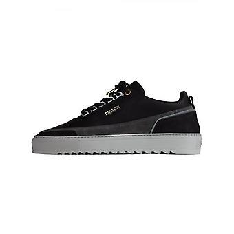Mason Vêtements Black Firenze Suede Nubuck Reflective Sneaker