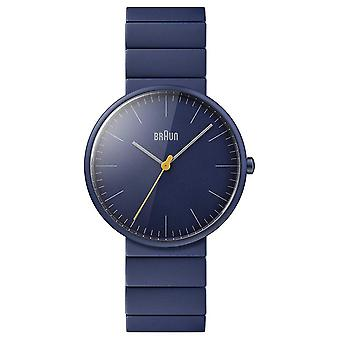 Braun Men's | Classic | Blue Ceramic Bracelet | Blue Dial BN0171NVNVG Watch
