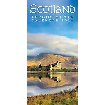 2021 Calendar Scotland Appointments by Lomond Books