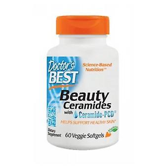 Leger Best Beauty Ceramides med Ceramide-PCD, 60 Veg Softgels