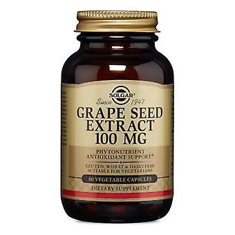 Solgar Druvkärneextrakt, 100 mg, 60 V Kepsar