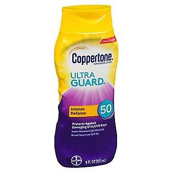 Coppertone Ultraguard Sunscreen Lotion Spf 50, 8 oz