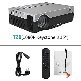 Proyector digital Full Hd 1080p/5500 lúmenes (30,5 * 24 * 11,5 cm)