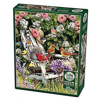 Cobble hill puzzle - summer adirondack birds - 1000 pc
