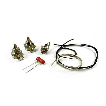 WD Music Precision Bass Wiring Kit Solid Shaft Pots