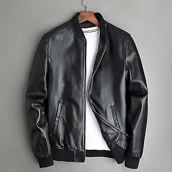 Jorah men's classic bomber leather jacket