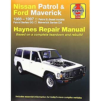 HM fits Nissan Patrol 1988-1997 & Ford Maverick 1988-1994 Petrol & Diesel