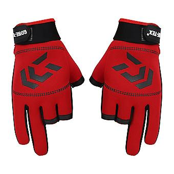 Men Women Outdoor Anti-slip Finger Sports Ishing Gloves
