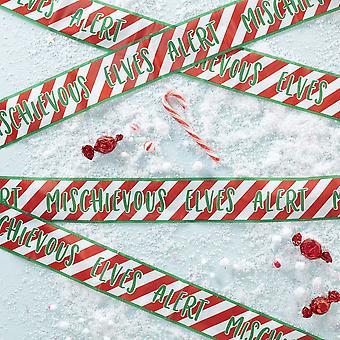 Elf Caution Tape - Elf Idea - 6m - Christmas