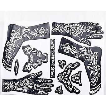 Tattoo skabelon til hænder og fødder