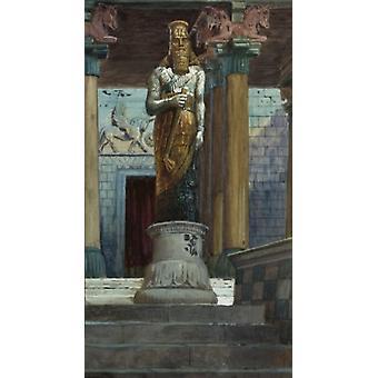 The Statue of Nebuchadnezzar James Tissot Jewish Museum New York Poster Print