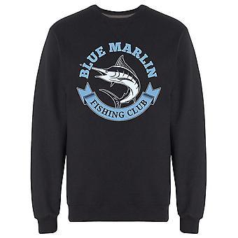 Angeln blau Marlin Grafik Sweatshirt Men's -Bild von Shutterstock