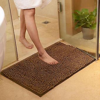 Mikrofaser Chenille Bad Matte Wasser absorbieren Anti Slip Badezimmer Teppich