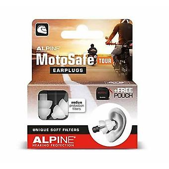 Alpine MotoSafe Tour Motorcycle Riding Earplugs Hearing Protection Filters
