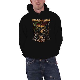 Black Sabbath Hoodie Bloody Sabbath 666 Band Logo Official Mens Black Pullover
