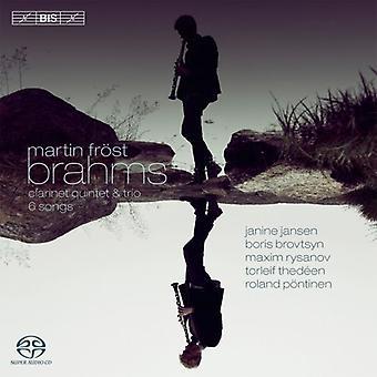 Brahms - Martin Frost speelt Brahms [SACD] USA import