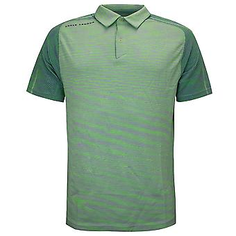 Under Armour Mens Vanish Seamless Polo Shirt Casual Green Top 1345458 369