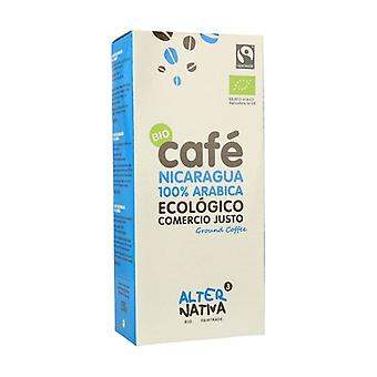Orgaaninen Jauhe Kahvi Nicaragua Arabica 250 g