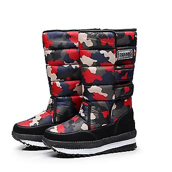 Men's Snow Boots Russia Waterproof Padded Non-slip Men's Cotton Shoes Warm Shoes