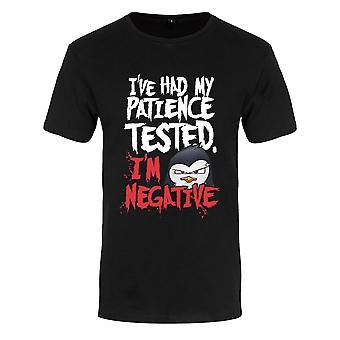Camiseta de paciencia para hombre De Psycho Penguin
