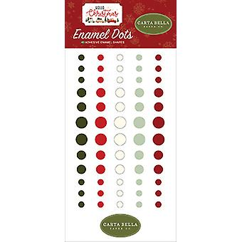 Carta Bella Hello Christmas Enamel Dots