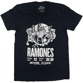 Ramones Belgique Official Tee T-Shirt Unisex
