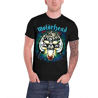Motorhead T Shirt Overkill Album Cover Warpig Logo Official Mens New Black
