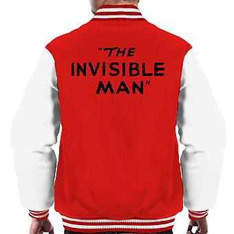 Den osynlige mannen Logo Män's Varsity Jacket