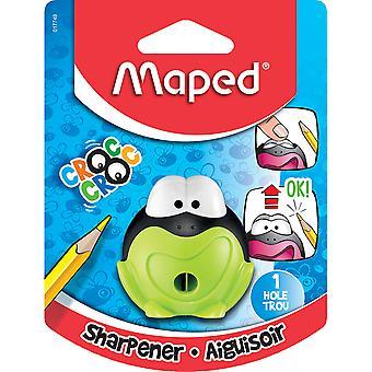 Maped Signal 1 Hole Frog Pencil Sharpener