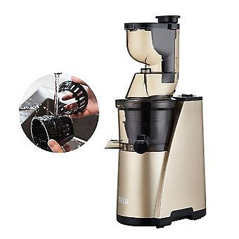 Lassú facsaró, 7 lv csavar hidegprés Juice Extractor, szűrő-mentes szabadalmaztatott,