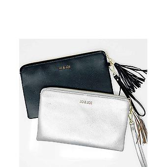 Chums Leather Clutch Bag