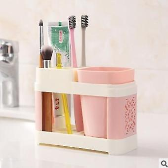 Bathroom Toothbrush Holder Suits Toothbrush Cup Toothpaste Bath Set