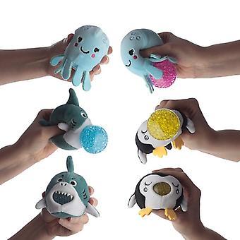 Fun kids squishy sealife toy 2 random supplied