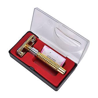 Double Edge Safety Razor For Me Shaving Face Razor Blades Shaving Machine