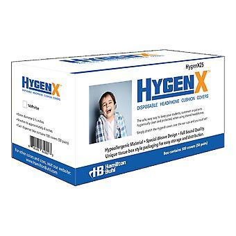 Hygenx Einweg-Kopfhörerabdeckungen, On-Ear, 50 Paare