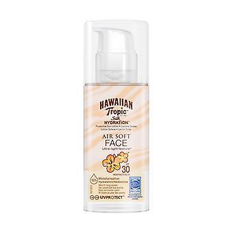 Facial Sun Cream Silk Air Soft Hawaiian Tropic Spf 30