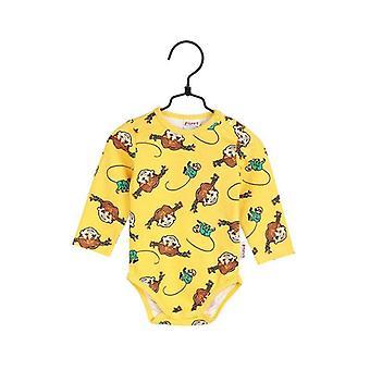 Pippi Langkous Vlechten-lichaam geel