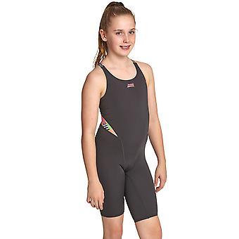 Zoggs Girls Flashback Legsuit
