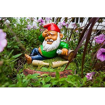 BigMouth Inc. Hungover Garden Gnome