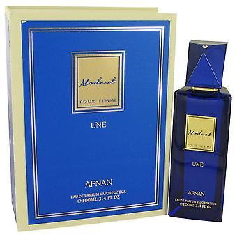 Modest Pour Femme Une Eau De Parfum Spray By Afnan 3.4 oz Eau De Parfum Spray