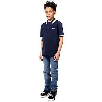 BOSS Çocuklar Mavi İnce Fit Jean